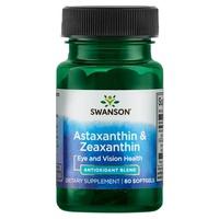 Astaxanthine et zéaxanthine