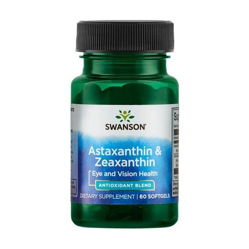 Astaxantina y zeaxantina