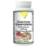 Complexe Champignons 500mg Extraits Standardisés