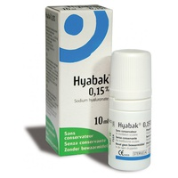 Hyabak solution