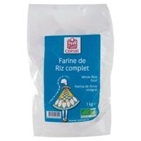 Farine de riz complet