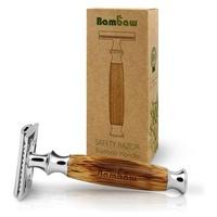 Rasoir à manche en bambou