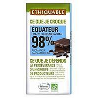 Chocolate Extrem Cacao 98% Bio