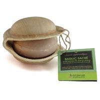 Ayurvedic Softening Soap: sacred basil, palmarosa & ylang-ylang