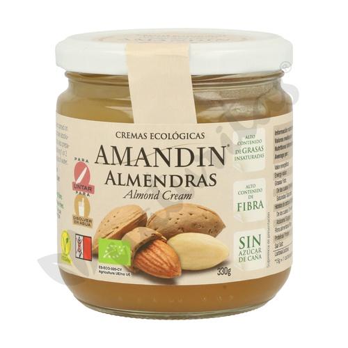Crema de Almendras 330 gr de Amandin