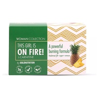L-Carnitine On Fire Woman