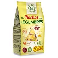 Gluten Free Corn Nachos with Legumes Bio
