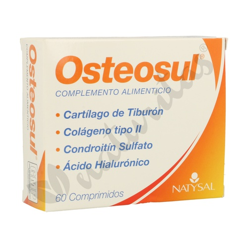 Osteosul (Cartílago de tiburón)