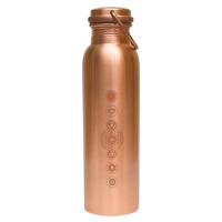 Chakras Copper Bottle 950ml