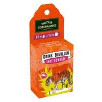 Drink Bouillon Hot Ginger Bio