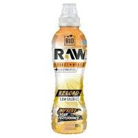 Rafraîchissement sans gaz Raw Super Drink Reload Orange et Mangue Bio