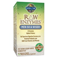 Raw enzymes Men 50 & Wise