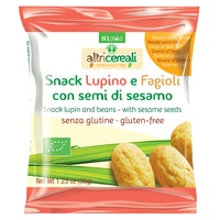 Lupine and bean snack - with sesame seeds