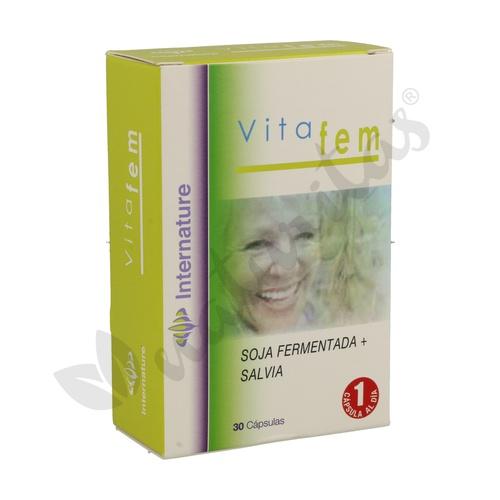 Vitafem 30 cápsulas de Internature