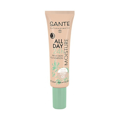 Maquillaje fluido hidratante 24h 01