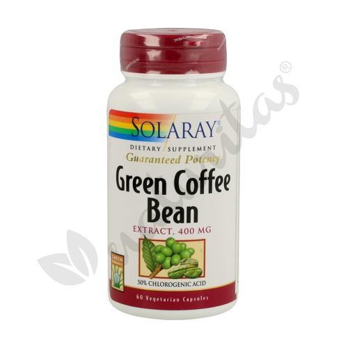 Café Verde (Green Coffee Bean) 60 cápsulas vegetales de Solaray - Kal