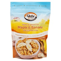 Oat Flakes with Banana and Maple Syrup