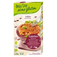 Galettes quinoa et haricot rouge BIO