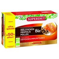 Miel propolis pollen +50% offert