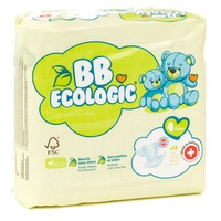 Fraldas para bebês T4 Maxi 7-18kg - BB Ecologic Range