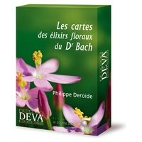Set of 39 Bach Flower Essence Cards