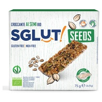 Crujiente con semillas sin gluten