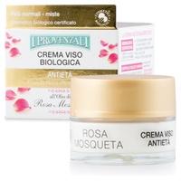 Crema Facial Antienvejecimiento Rosa Bio