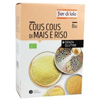 Corn and rice couscous