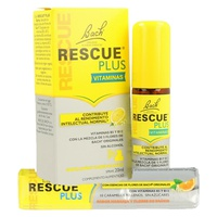 Rescue plus vitaminas spray + REGALO Caramelos Rescue Remedy Plus