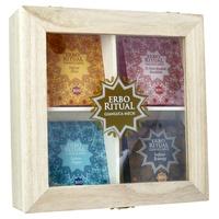 Boîte en bois Erbo Ritual Cofanneto avec infusions