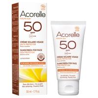 Crema solare viso SPF50 Bio