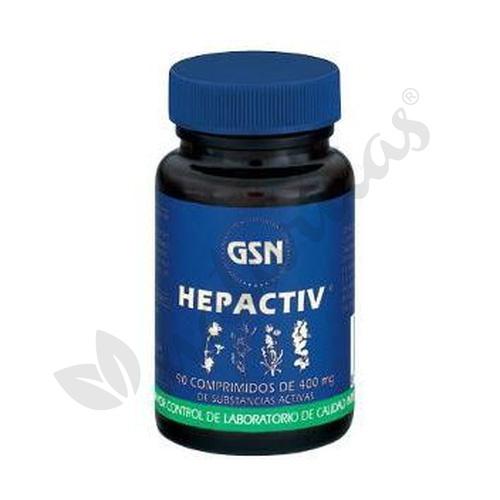 Hepactiv 90 comprimidos de 400 mg de Gsn