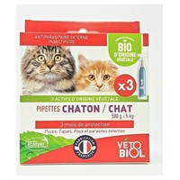 Pipettes Chat/Chaton BIO
