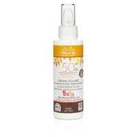 Fluid Sun Cream SPF 50 High Protection for Children - Bioplastic bottle