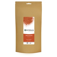 Pure and natural red clay