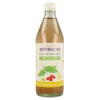 Kombucha de Té Verde y Flor de Hibisco