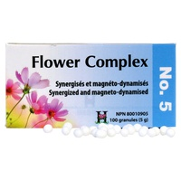 Flower Complex Nº 5 Miedos