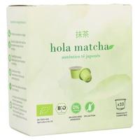 Hola Matcha Cápsulas de Té Matcha Bio