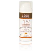 Crème solaire fluide SPF 15 Protection moyenne visage