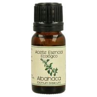 Aceite Esencial Bio de Albahaca Frasco Gotero de aceite esencial de 12 ml de Labiatae