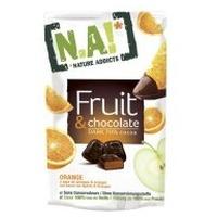 Snack de Fruta y Chocolate, Naranja