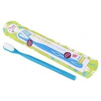 Brosse à dents écologique rechargeable Bleue Souple