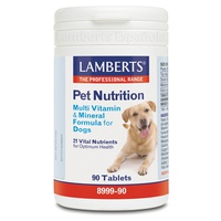 Pet Nutrition Multivitaminas e minerais para cães
