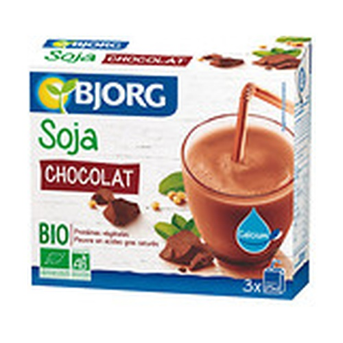 Bebida Mini de Soja con Chocolate y Calcio Bio