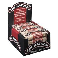 Barritas de arándanos, nueces de Macadamia y chocolate negro