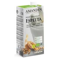Bebida de Espelta Prebiótica 1 Litro de Amandin