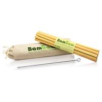 Pajitas de bambú 13 cm