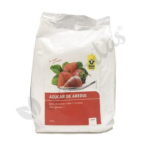 Azúcar Abedul Xilitol  750 Gr de Raab