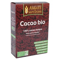Organic cocoa (100% lean cocoa with no added sugar)