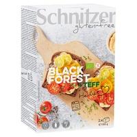 Pan de molde Teff Black Forest sin gluten